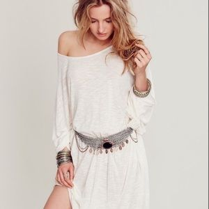 🌷🌷🌷Free People Belt, Stone & Chain, Sold Out
